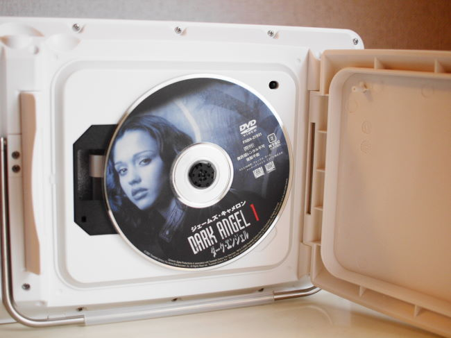 防水DVDポータブルプレーヤー