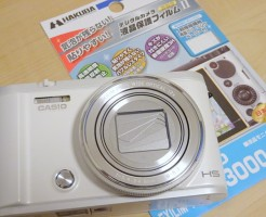 EXILIM ZR3100 液晶保護フィルム