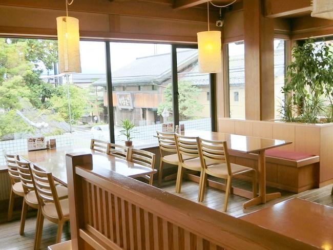 竹風堂 レストラン