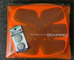 シックスパッドの電池