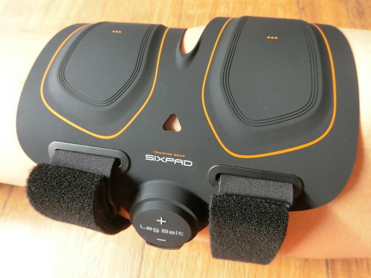 シックスパッド(SIXPAD)レッグベルトの付け方・貼る位置(太もも)