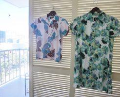 コナベイハワイ アロハシャツ チュニックドレス