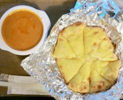 バターチキンカレー チーズナン