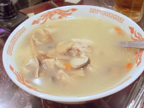 知音食堂 鶏のスープ