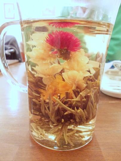花籠造形茶ジャスミン