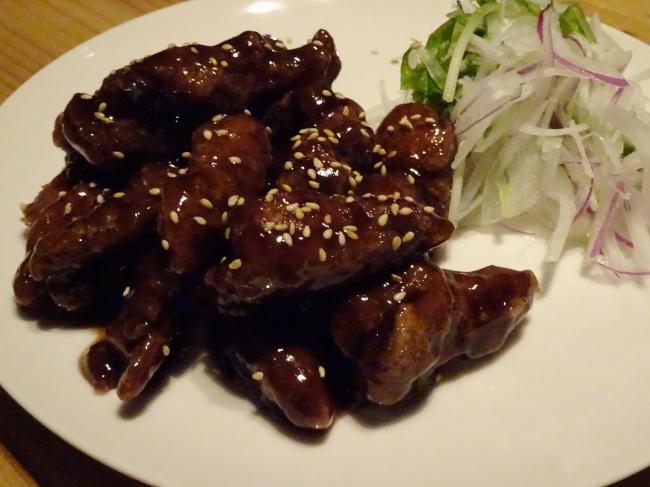 大人のナポリタンKAZUYA(麻布十番)黒酢酢豚