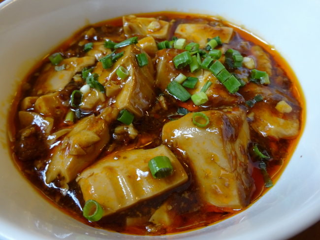 上海食堂 ランチ麻婆豆腐