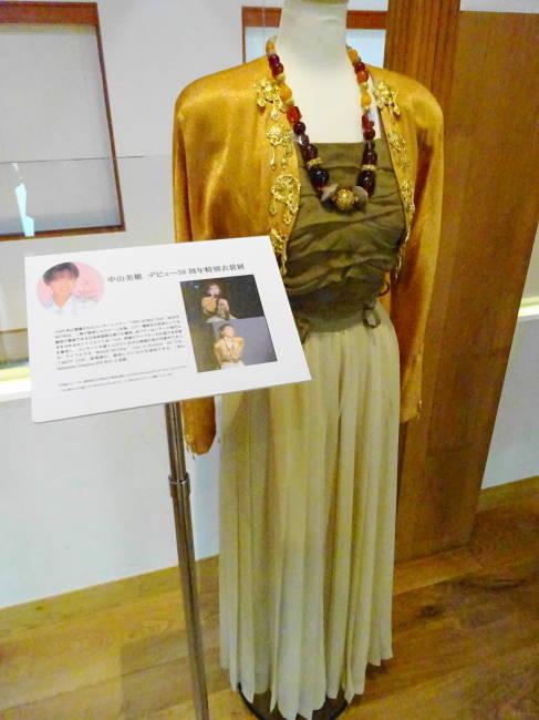 中山美穂デビュー30周年記念特別衣装展
