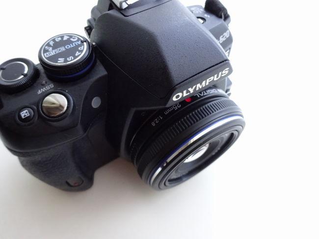 OLYMPUS 標準パンケーキレンズ ZUIKO DIGITAL 25mm F2.8