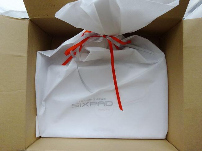 SIXPAD(シックスパッド)プレゼント用ラッピング