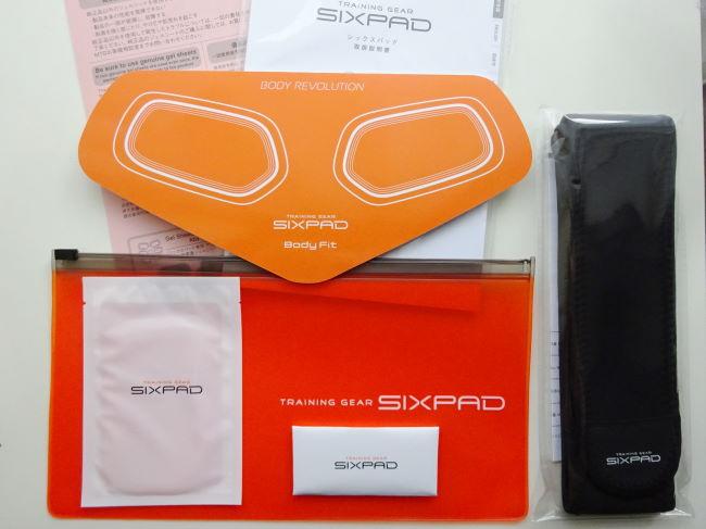 SIXPAD (シックスパッド)Body Fit付属品