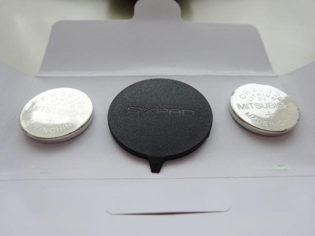 SIXPAD(シックスパッド)電池・オープナー