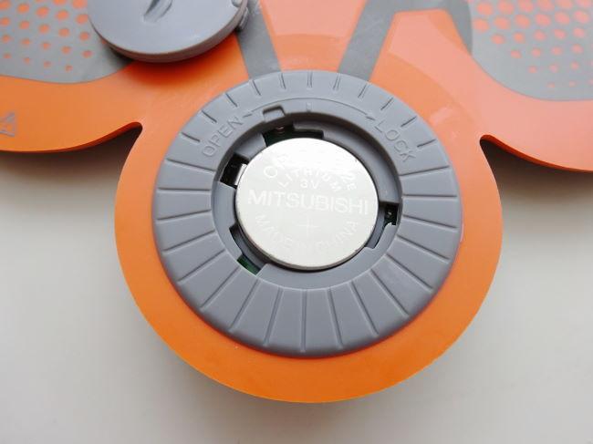 SIXPADコイン電池