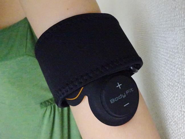 SIXPAD(シックスパッド)で二の腕の筋トレ