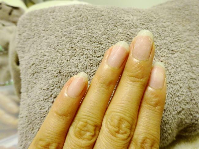 パラジェルで爪の乾燥が改善!