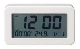 デジタルバスクロック 防沫形置時計