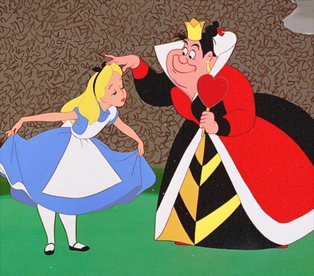 不思議の国のアリスとハートの女王