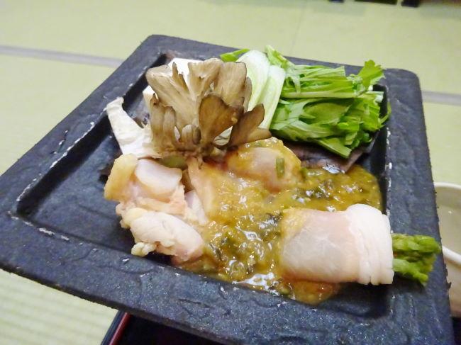 地鶏の味噌焼き