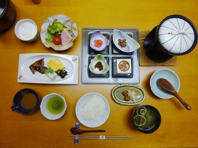 若竹の庄の朝食