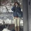 1月の軽井沢旅行の服装はダウン&ロングブーツ:小さいさんの着回しコーディネート【11】