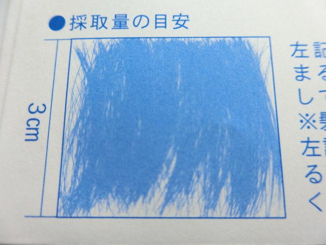 毛髪ミネラル検査キット