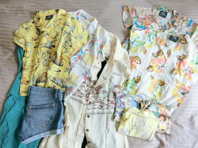 ハワイ旅行10月の服装